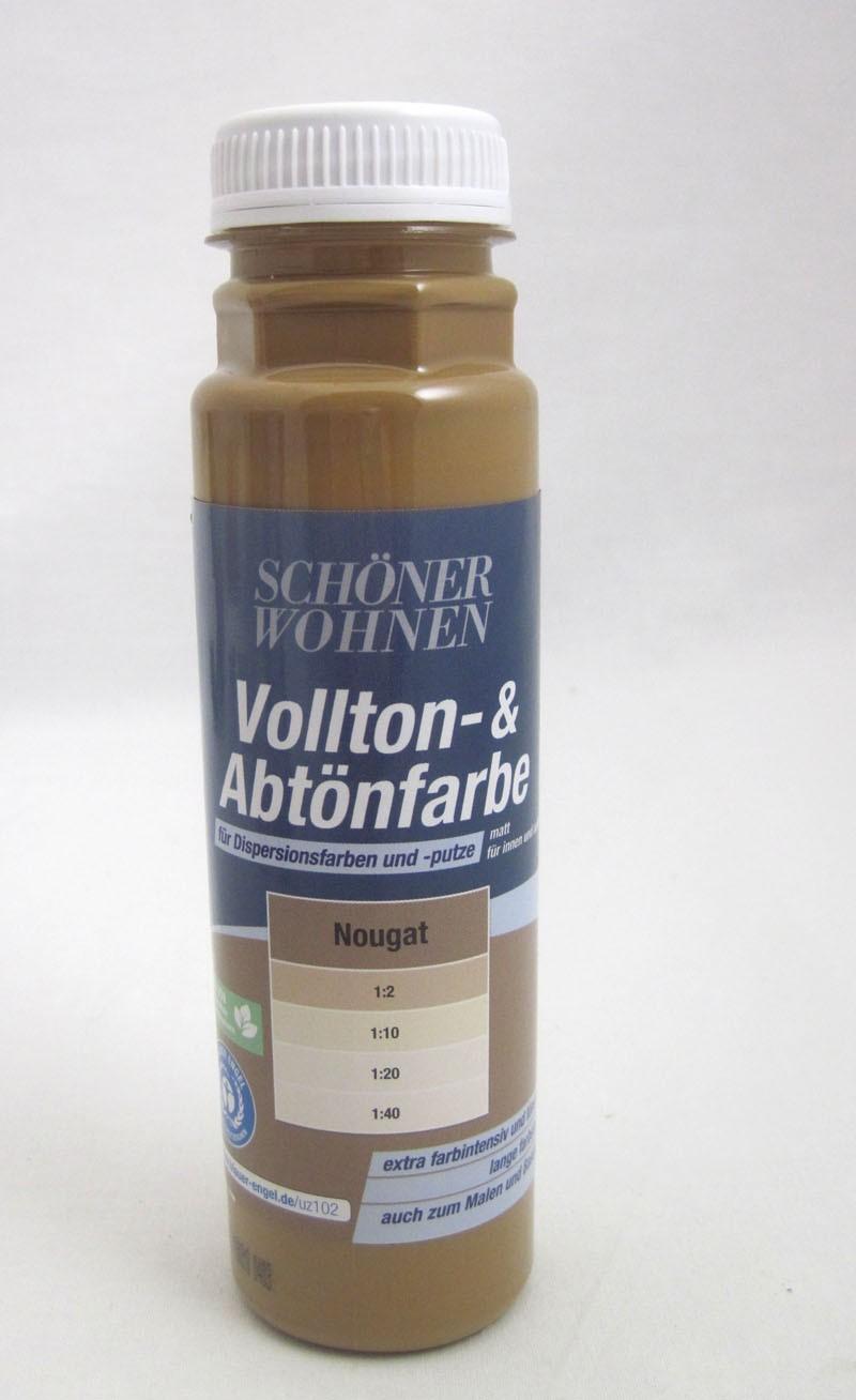Voll- und Abtönfarbe Nougat 250 ml