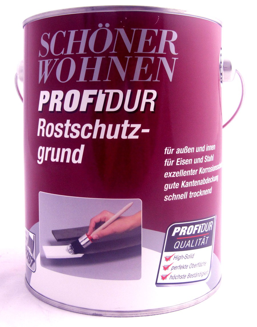 ProfiDur Rostschutzgrund 2,5 l  RAL 7106 grau
