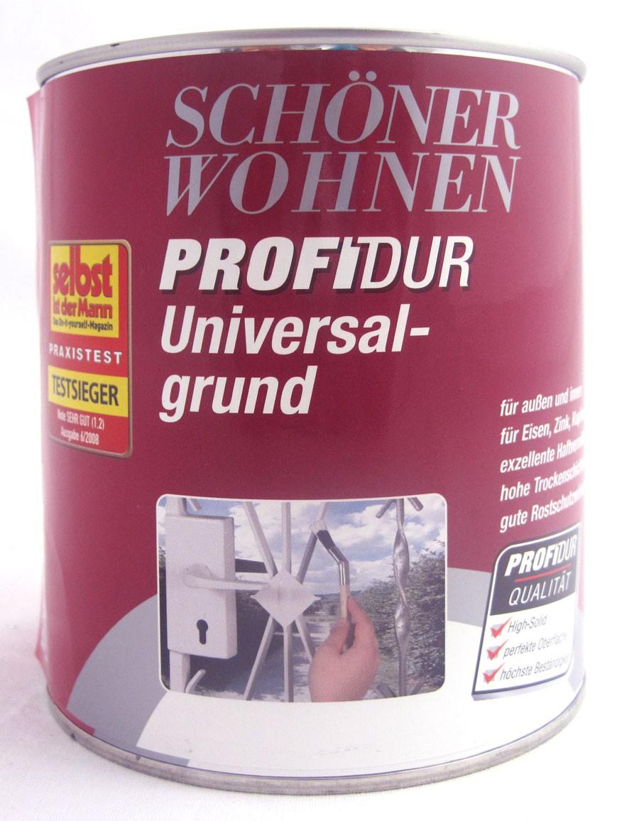 ProfiDur Universalgrund 0,750 l  grau Schöner Wohnen
