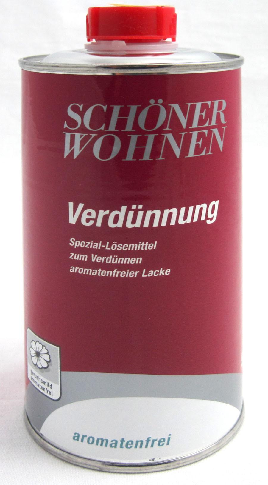 Verdünnung aromatenfrei 500 ml Schöner Wohnen