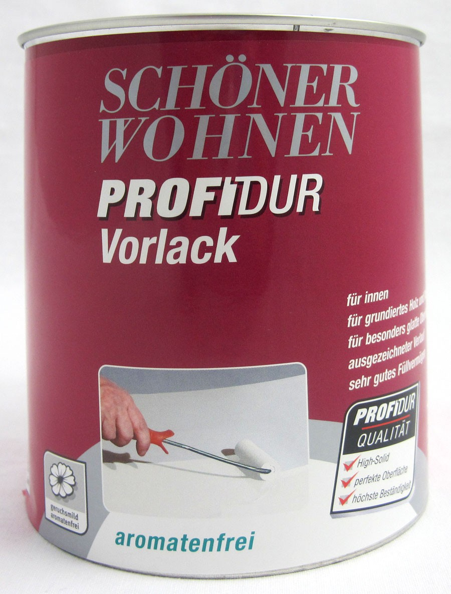 Profidur Vorlack 750 ml weiß