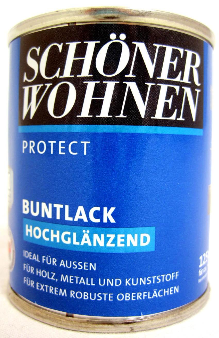 Protect Buntlack 125 ml Fb.-Nr.:0096 Altweiß hochglänzend, Alkydharzlack SW