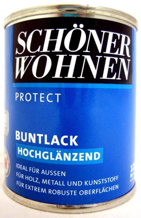 Protect Buntlack 125 ml, RAL 3003 Rubinrot hochglänzend, Alkydharzlack SW
