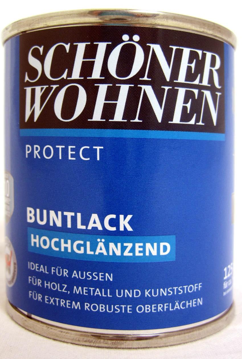 Protect Buntlack 125 ml, RAL 7047 Telegrau 4 hochglänzend, Alkydharzlack SW