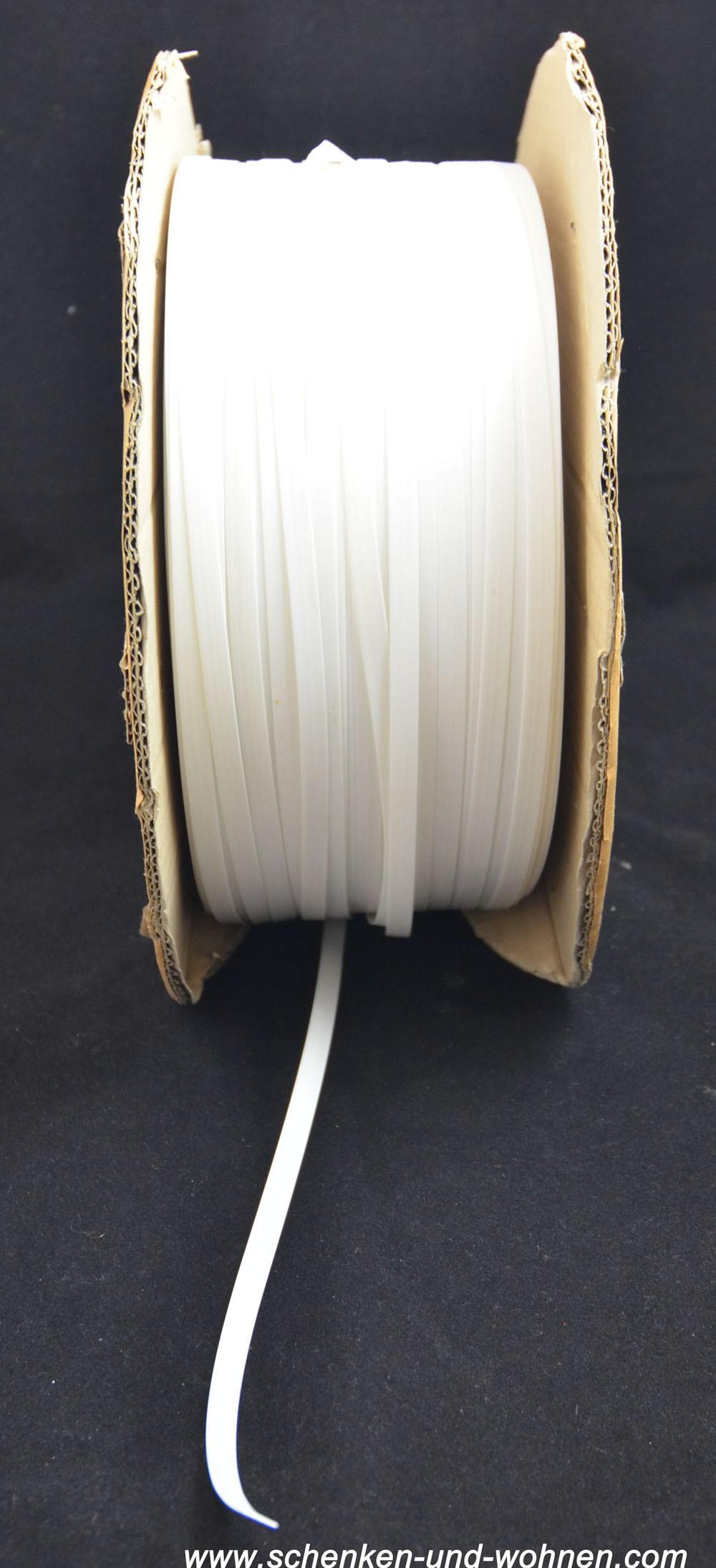 PVC-Klammern-Streifen 10x0,8mm Polstermaterial Meterware (5 m)
