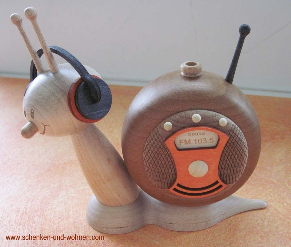Radioschnecke Rauchschnecke Sunny ca. 15cm