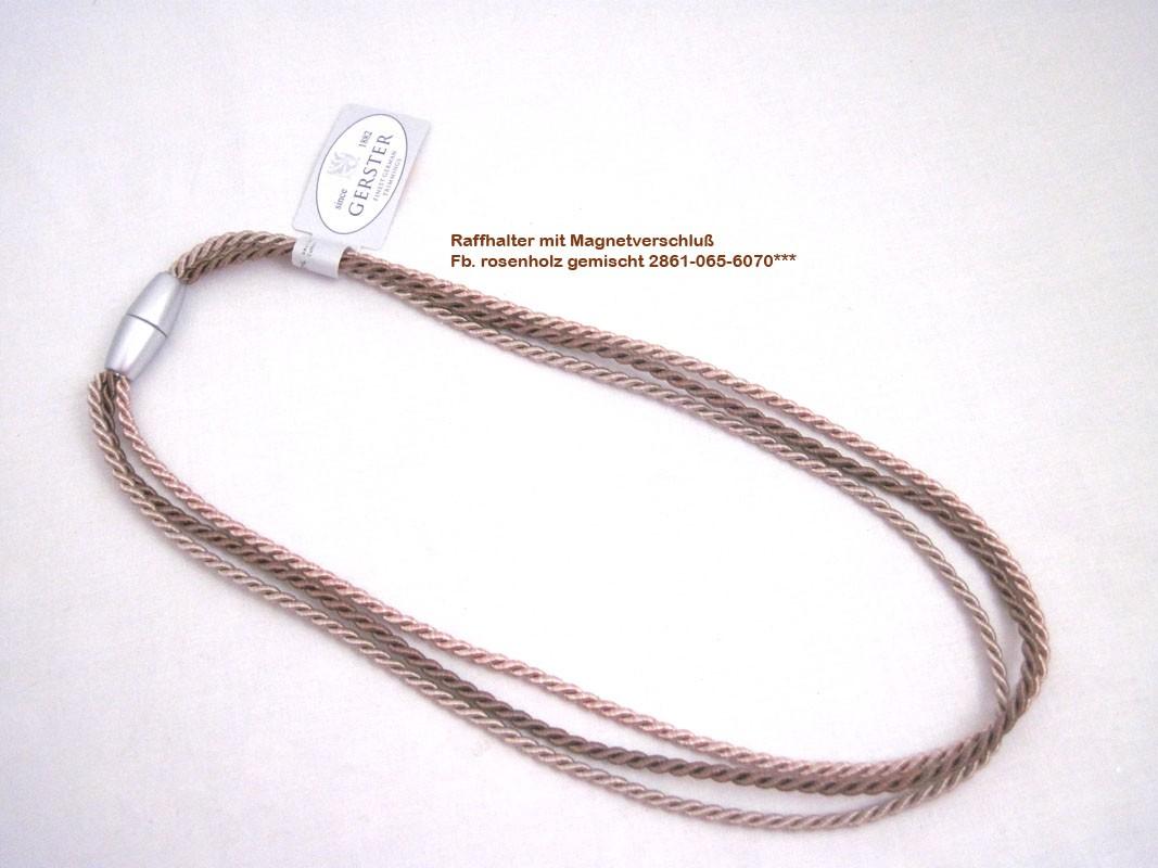 Raffhalter mit Magnetverschluss 64/32 cm rosenholz gemischt Fb. 6070