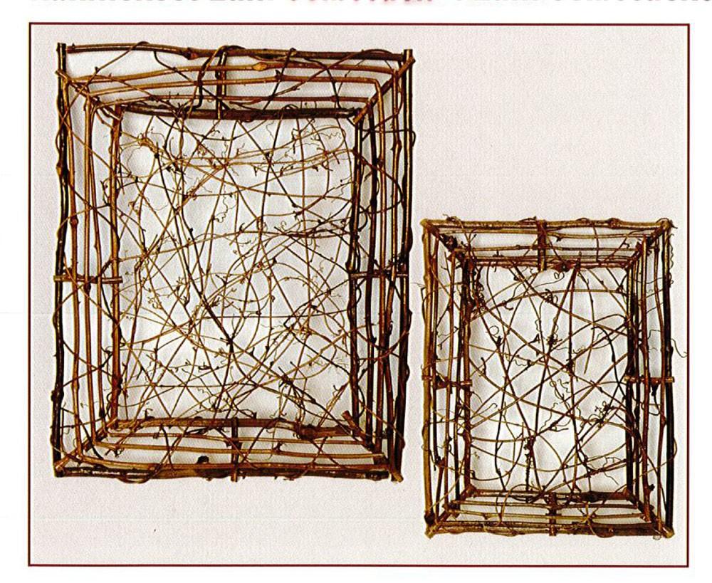 Weinrebenrahmen 2er Set (25 x 35 cm / 35 x 45 cm)