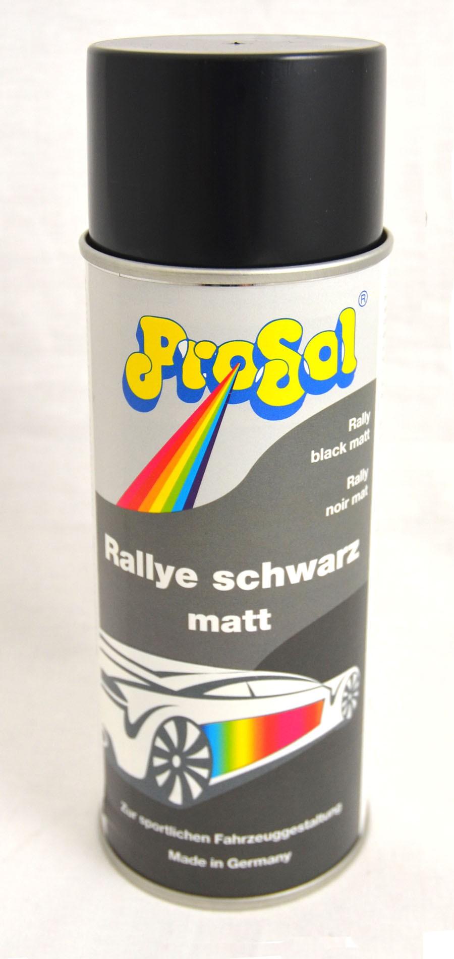 Rallye schwarz matt Spray 400 ml