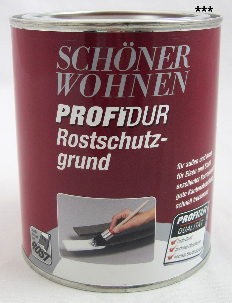 ProfiDur Rostschutzgrund 0,75 l  RAL 7106 grau