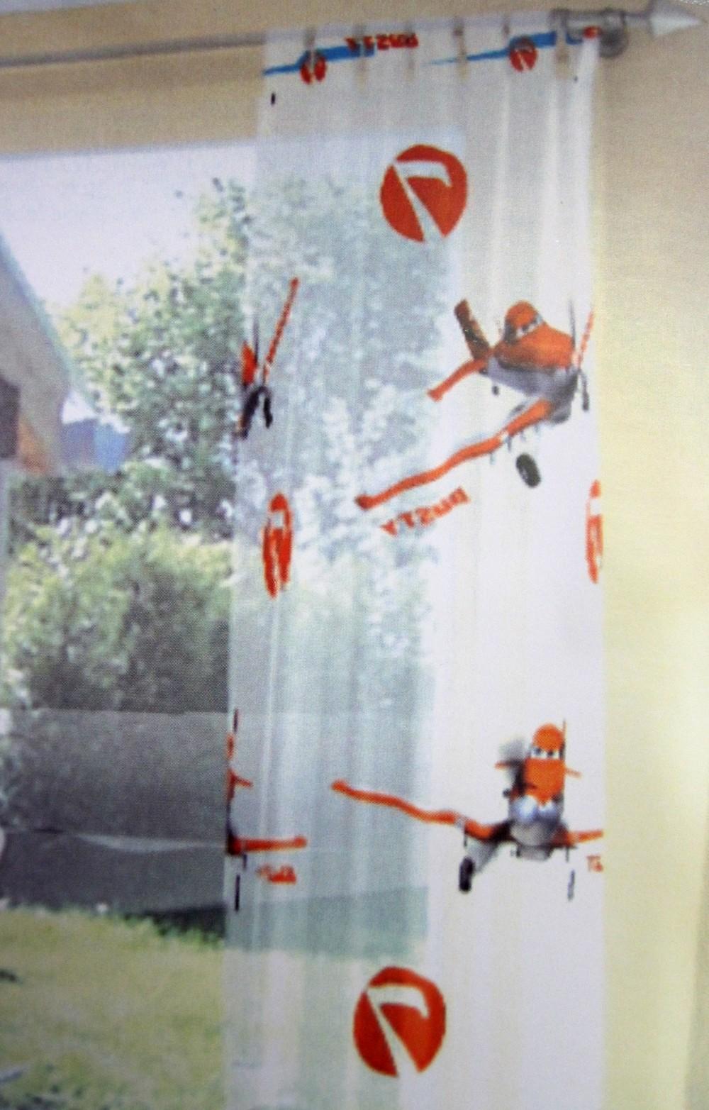 Kinderzimmerstoff Planes Disney Meterware 290 cm hoch