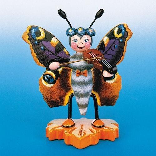 Hubrig - Schmetterling - Pfauenauge - Geige