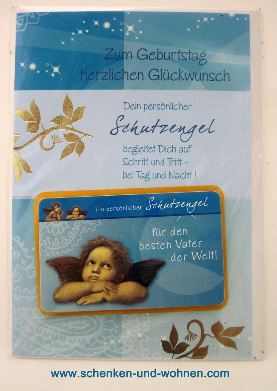 Geburtstagskarte Glückwunschkarte mit Schutzengel 51-4450