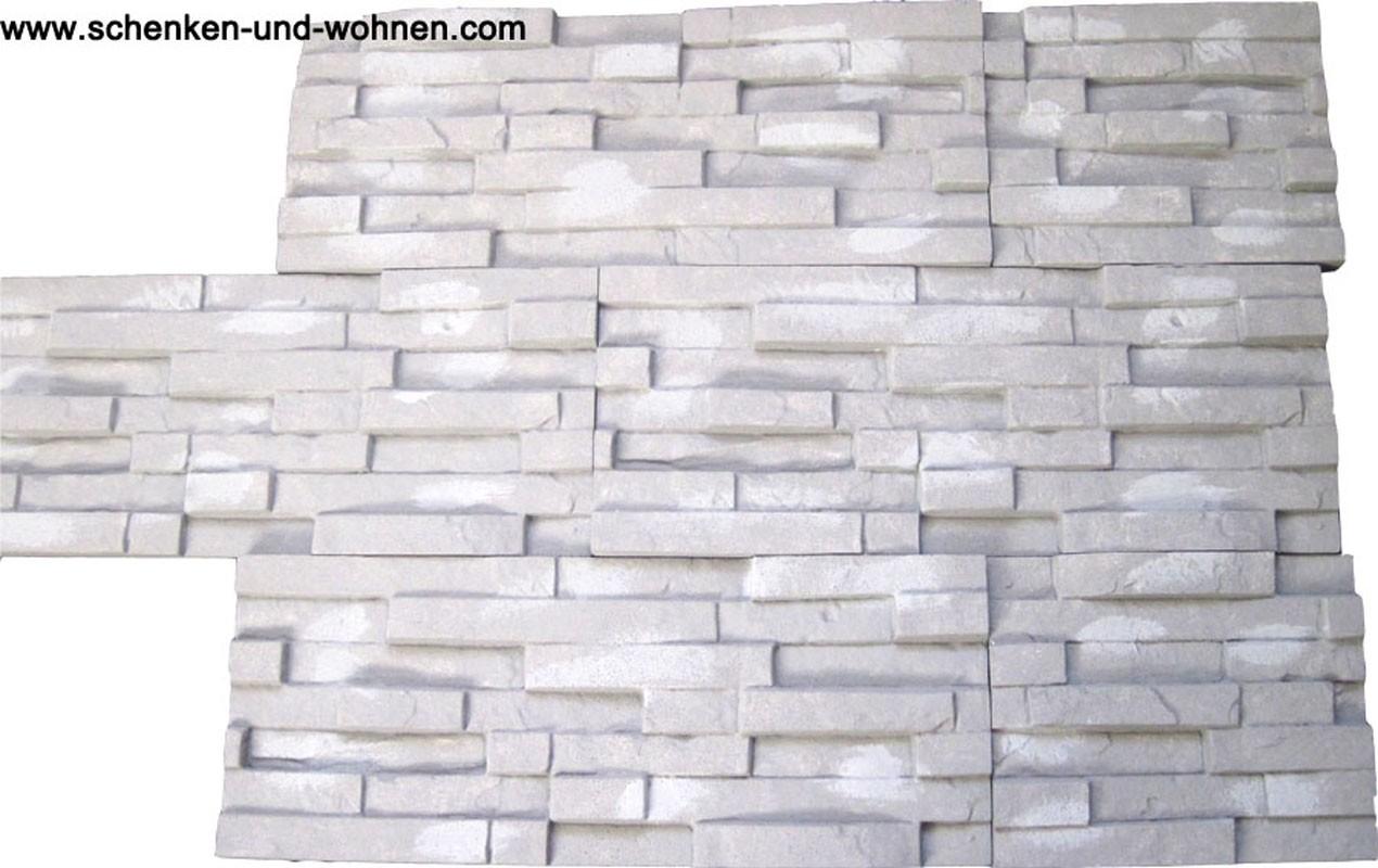 Wandgestaltung Creativsteine Sierra Styropor Steinoptik