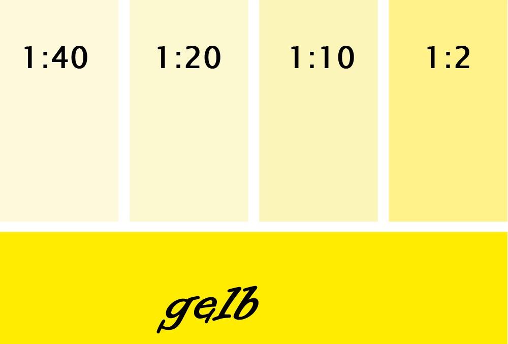 Silikat Vollton- & Abtönfarbe  gelb 250 ml