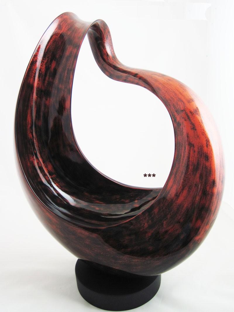 Dekorative Skulptur  ca.65 x 47 cm ( H x B )