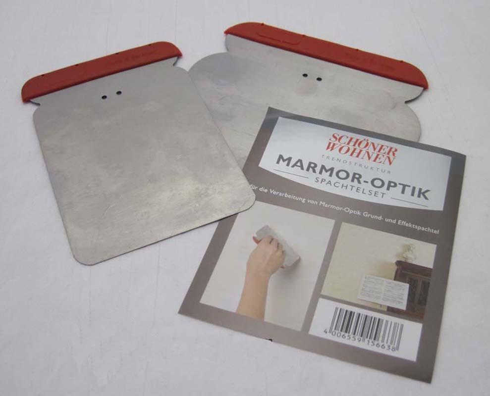Marmor-Optik Spachtelset Schöner Wohnen