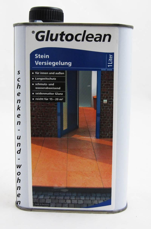 Glutoclean Steinversiegelung für Innen und Aussen 1 l