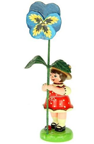Blumenkind Stiefmütterchen 24 cm - Ausverkauft