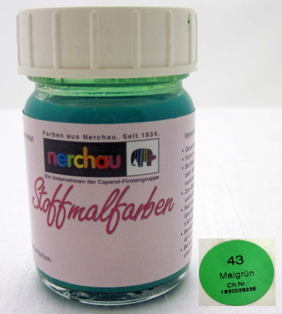 Stoffmalfarbe Nerchau 50 ml Maigrün 43