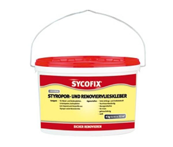 Sycofix - Styropor- und Renoviervlieskleber 4kg