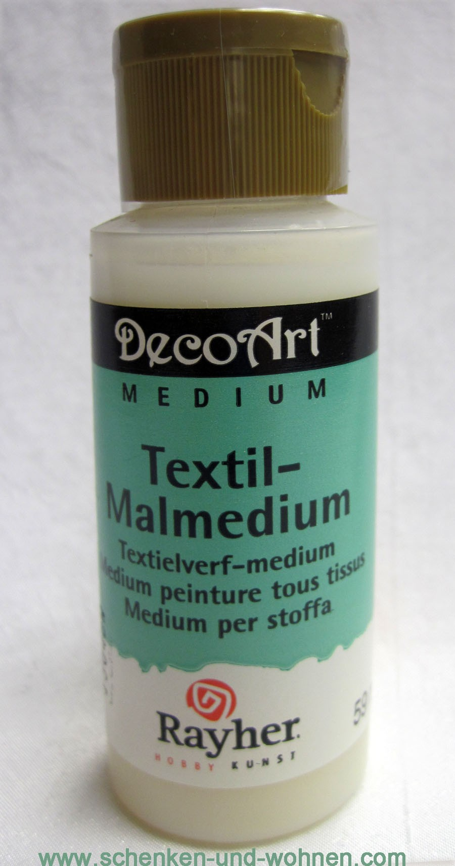 Textil-Malmedium DecoArt Medium 59 ml