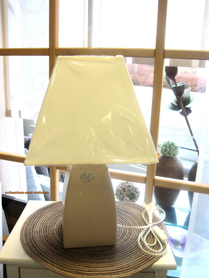 Moderne Keramik - Tischlampe Tulip 45 x 26 cm (Fassung E27, ohne Leuchtmittel)