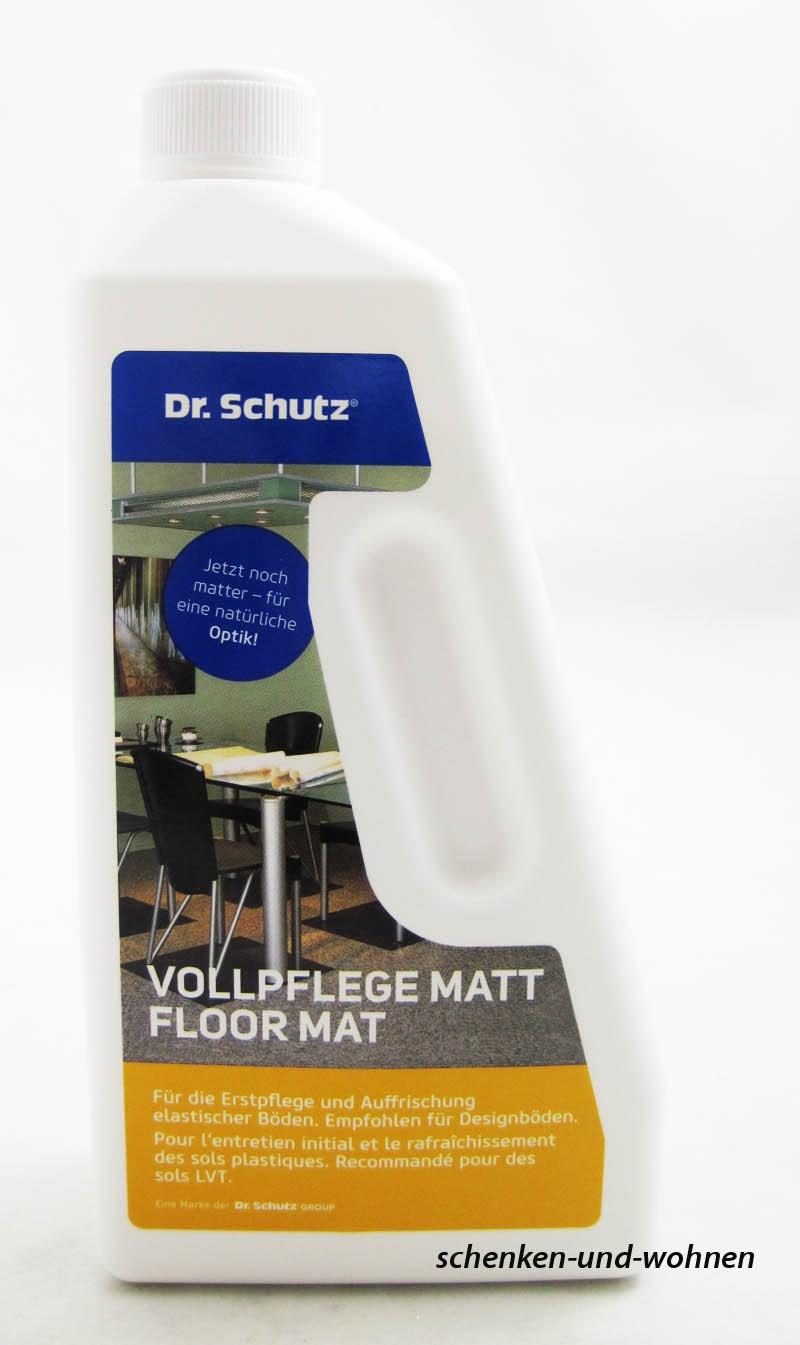 Dr. Schutz Vollpflege matt 750 ml - empfohlen für Designböden