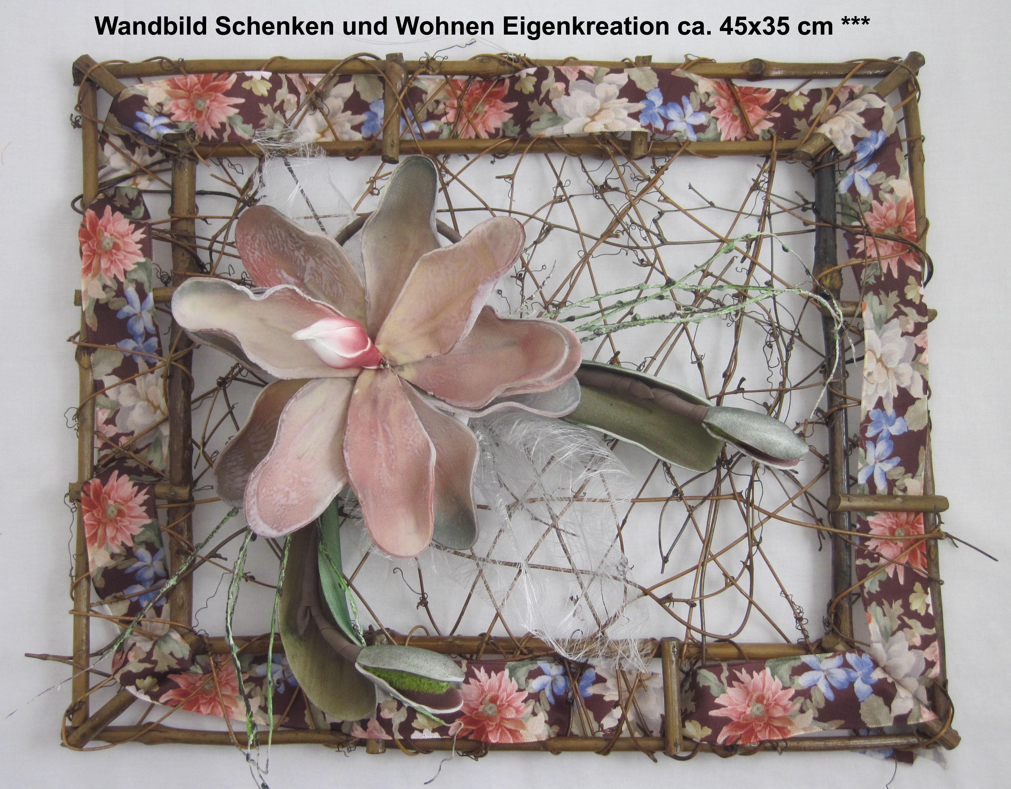 Wandbild Schenken und Wohnen Eigenkreation ca. 45x35 cm