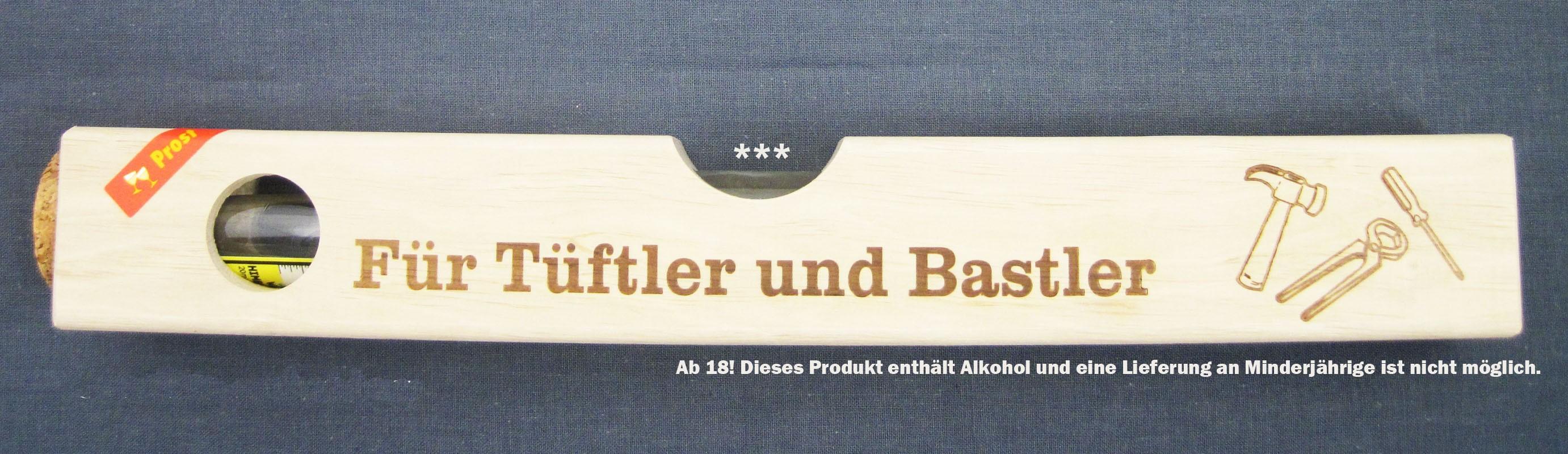 """""""Wasser""""waage Holz groß - Für Tüftler und Bastler 2 x 20 ml"""