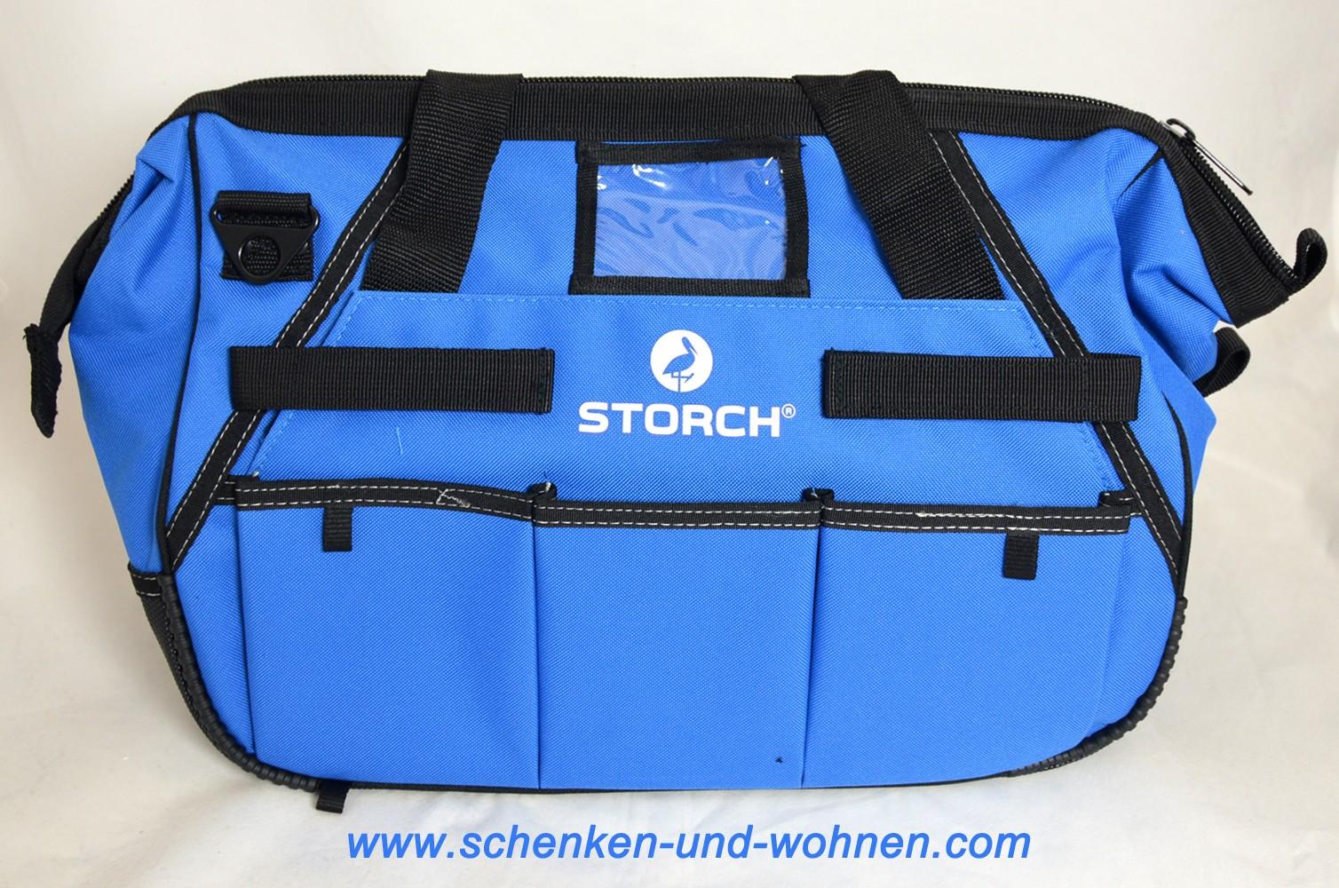 Werkzeugtasche 43x24x28 cm (B/T/H) Storch