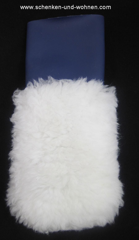 Wischhandschuh für Wandgestaltung Wischtechnik