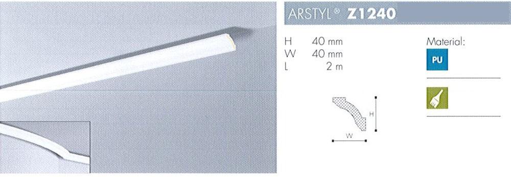 NMC Arstyl Profil Z1240 2m lang