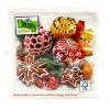 Weihnachts-Lunch-Servietten Baumkugeln, 20 Stück 33 x 33 cm