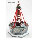 Hubrig - Wiki Stadtbrunnen elektrisch beleuchtet ca. 8 x 12 cm (B/H)