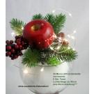 20-LED Drahtlichterkette Innenbereich Länge 95cm, 6 Std.Timer