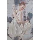 Wandbild auf Leinwandrahmen 40 x60 (BxH) Ballerinas2