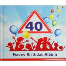 Gästealbum Erinnerungsalbum 40. Geburtstag