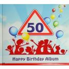 Gästealbum Erinnerungsalbum 50. Geburtstag