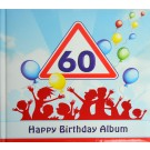 Gästealbum Erinnerungsalbum 60. Geburtstag