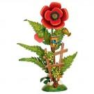 Hubrig Blumeninsel Mohn ca. 14 cm