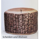 "Sitzhocker ""DotCom Wood"" Fb. 080, Naturlook ca. 50 x 30 cm"