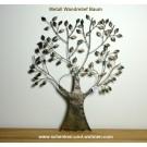 Metall Wanddeko Relief Baum ca. 59 x 76 cm(BxH)