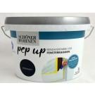 Pep up Renovierfarbe für Fensterrahmen Hellgrau seidenmatt 1l