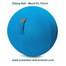 Sitzball 65 cm rund für Erwachsene Mesh Fb. petrol