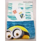 "Strandlaken Jaquard Velours ""Surf"" Minions ca. 75 x 150 cm ca. 420g/m²"