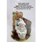 Nudelpräsent mit Gourmet-Instand-Sauce und LED-Weihnachtsmann
