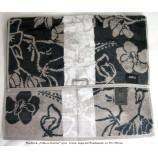 """Handtuch Cawö """"Noblesse Interior"""" braun/  beige / grau ca. 50x100 cm"""