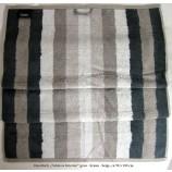 """Handtuch Cawö """"Noblesse Interior"""" braun/  beige / grau gestreift ca. 50x100 cm"""