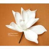 Foam Flower künstlich, weiss L.ca. 20cm D.ca. 10cm